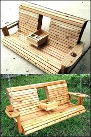 wooden outdoor swing u2013 sewing patterns