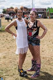 revellers party in the sunshine at v festival daily mail online
