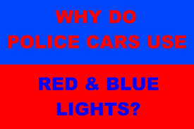 can volunteer firefighters have lights and sirens why do police cars use red blue lights they re visually confusing