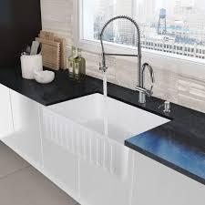 spray kitchen faucet faucet vg02006ch in chrome by vigo