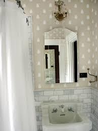 Small Bathroom Wallpaper Ideas Colors 93 Best Bathroom Redesign Images On Pinterest Room Bathroom