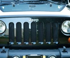 jeep cj grill logo diy mesh grill guards for a jeep wrangler for about 10 12 steps