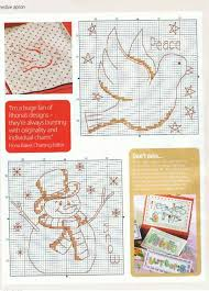 842 best christmas cross stitch patterns images on pinterest