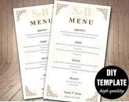 diy wedding menu cards printable wedding menu card diy wedding menu template purple