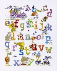 animals alphabet cross stitch kit cross stitch royal