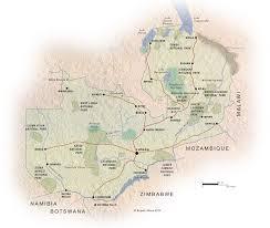 map of zambia map of zambia zambia c expert africa