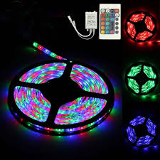 color changing led strip lights with remote flexible strip tape light 16 300 color changing leds 3528