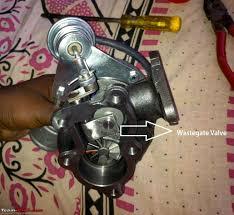 diy adjusting the turbo wastegate preload for more less boost
