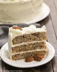 classic hummingbird cake with coconut that skinny can bake