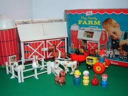 Fisher Price Little People Barn Set Vintage Fisher Price Little People Farm Barn 915 Complete Animals