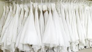 white wedding dresses the white wedding dress industrial complex racked