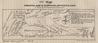 Map Of North Carolina And Virginia by Some Early Nc Maps