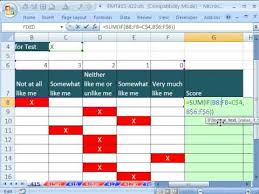 Excel Survey Data Analysis Template Excel Magic Trick 415 Summarize Survey Results 2 Different