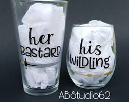 His And Hers Wedding Gifts Funny Couples Gift Etsy