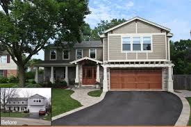 20 home exterior makeover before and after ideas home home exterior remodel design ideas