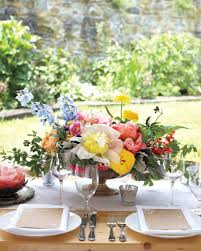 wedding reception table centerpieces the prettiest peony wedding centerpieces martha stewart weddings