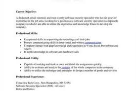 Security Specialist Resume Sample by Protection Specialist Resume Reentrycorps