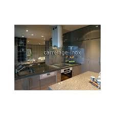 plaque inox cuisine carrelage inox cuisine meuble cuisine plaque et four 1 sur