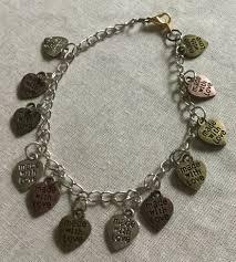 love charm bracelet images Made with love charm bracelet bands n bottoms llc jpg