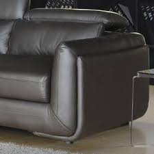Italian Leather Recliner Sofa Modern Contemporary Italian Leather Reclining Sofa Allmodern