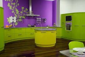 couleur tendance pour cuisine vert et violet combinaison de couleurs tendance pour intérieur