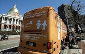 Massachusetts travel bus images Anti transgender 39 free speech 39 bus sparks boston protests daily jpg