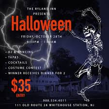 halloween event archives the ryland inn