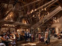 Hogwarts Dining Hall by Dining At Three Broomsticks Restaurant In Wizarding World Of Harry