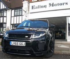 black land rover range rover land rover range rover evoque for sale from ealing motors