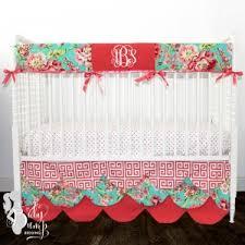 Preppy Crib Bedding Baby Crib Bedding Sets For Custom Designer Nursery