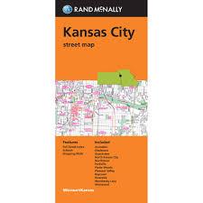 Map Of Kansas City Folded Maps Kansas City