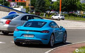 miami blue porsche turbo s porsche 718 cayman s 1 miami blue porsche pinterest