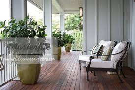 Chairs For Front Porch Two Chairs On Front Porch Of Hawaiian Home Stock Photo