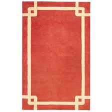 tolka border red 5x8 rug pier 1 index pinterest products
