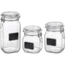 glass kitchen canisters u0026 jars
