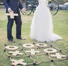 homemade outdoor wedding games guides for brides blog step