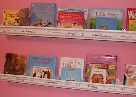 Vinyl Rain Gutter Bookshelves - 77 best kids u0027 bookshelves images on pinterest ikea spice rack