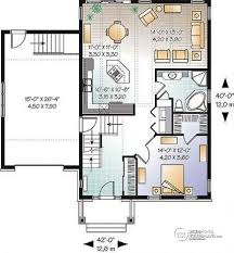 craftsman open floor plans house plan w3271 detail from drummondhouseplans