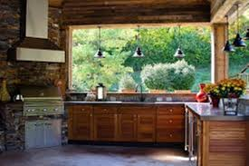 Outdoor Kitchen Designs For Small Spaces - rustic outdoor kitchen designs images u2013 home improvement 2017