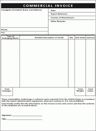 ups commercial invoice template eliolera com