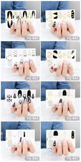 metallic nail foil wraps yq series wholesale metallic nail wraps stickers nail foil