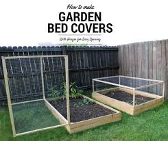 how to make a raised garden bed cover with hinges 5 steps with