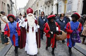 nicolas and black pete a belgian tradition with