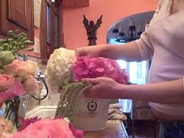 wedding centerpieces flowers in a french ice bucket tutorial