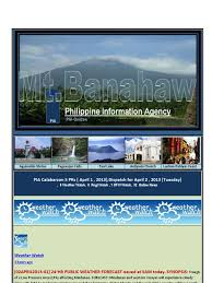 pia calabarzon 5 prs april 1 2013 dispatch for april 2 2013