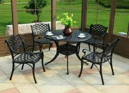 metal patio chairs and table outdoor metal table and chair set rosekeymedia com