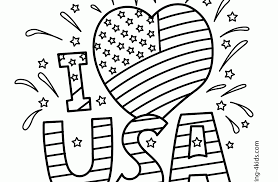 independence day coloring pages printable print color free