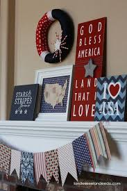 126 best holiday 4th of july decor and craft ideas images on