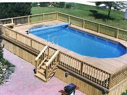 cheap above ground pool deck kits above ground pool decks cheap