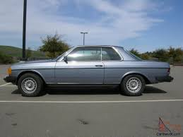 mercedes w123 coupe for sale 1978 mercedes 300cd coupe automatic blue w123 130k engine